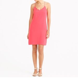 Scalloped cami dress